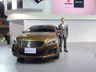 Introduction of the Suzuki Ciaz medium sedan