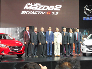 Executives of Mazda Thailand