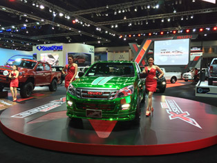 Isuzu booth
