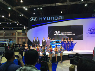 Executives of Hyundai Thailand