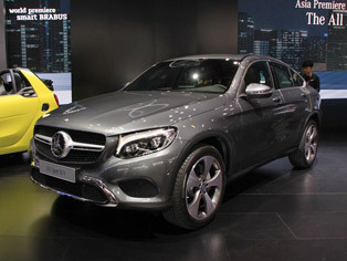 Mercedes-Benz: China premiere of the GLC Coupe