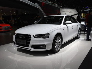 FAW-VW: World premiere of the new Audi A4L
