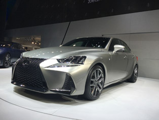 Lexus: World premiere of the new IS