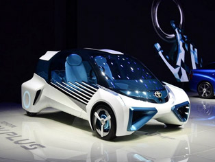 Toyota: China premiere of the FCV Plus concept model