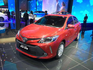 FAW Toyota: China premiere of the new Vios