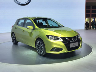 Nissan: China premiere of the new Tiida