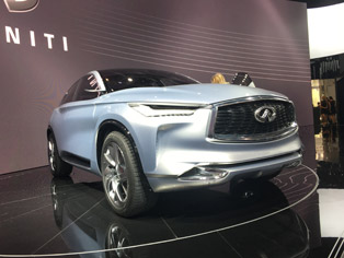 Infiniti: World premiere of the QX Sport Inspiration