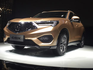 Acura: World premiere of the CDX