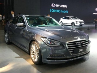 Hyundai: Display of the Genesis G80
