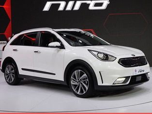 Kia: China premiere of the Niro