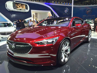 Buick: Display of the Avista concept model