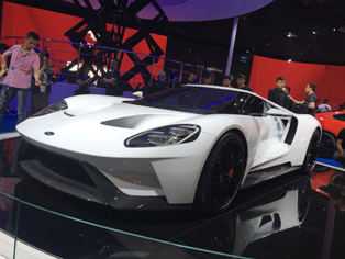 Ford: Asia premiere of the GT