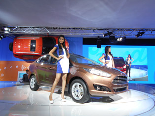 Fiesta: New model with revamped interior/exterior
