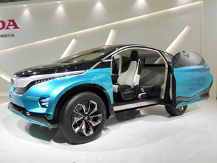 Vision XS-1: Crossover utility vehicle, world premiere