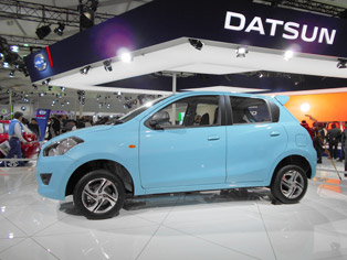 Datsun Go: Manufactured at Nissan's Chennai plant
