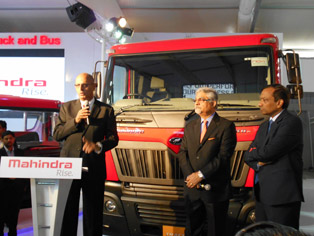 Mahindra Truck and Bus unveils the Traco 49 semi-tractor