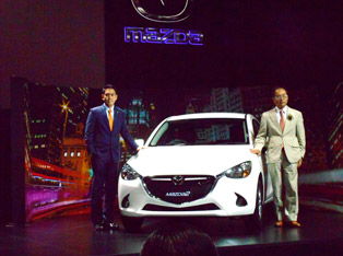 Introduction of the gasoline-powered Mazda2